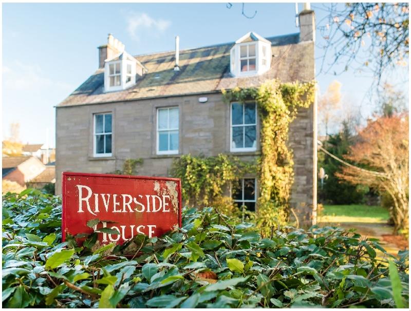 Scottish Cottage Holidays - Riverside House