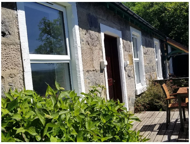 Scottish Cottage Holidays - Awe View Railway Cottage